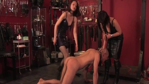 Sloppy fucking in the company of hottest mistress