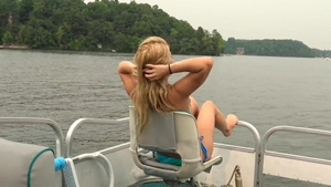 Stepsis Lilly Ford in bikini creampied on the boat