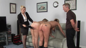 Large tits mistress goes in for humiliation in HD