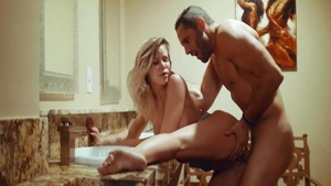 Raw loud sex with glamour babe Jessa Rhodes