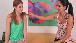Fingering starring young teen chick Nikki Daniels