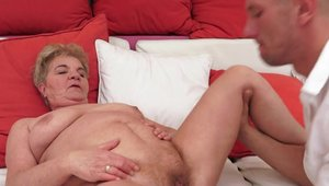 Slamming hard escorted by hairy pussy mature
