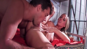 Hard rough sex with busty mature Samantha Saint