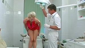 Very nice doctor forced fucking