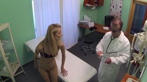 Hidden cam sex along with skinny blonde