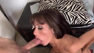 Sloppy fucking in company with mature