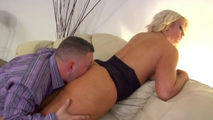 Busty stepmom Randi Wright fetish ass fucking femdom