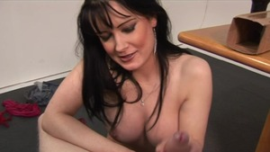 Cumshot video with large tits reality Busty Bri