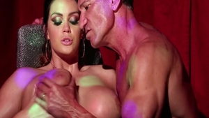 Busty babe Alison Tyler finds irresistible rough sex