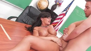 Raw sex in the company of large tits pornstar Lisa Ann