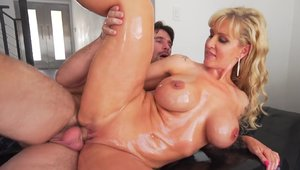 Ramming hard with busty babe Ryan Conner