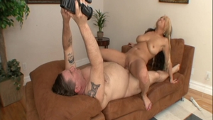 Hard ramming in the company of large tits amateur Mia Rider