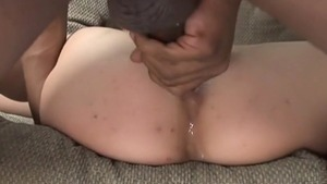 Hard pounding in company with brunette Amber Rayne