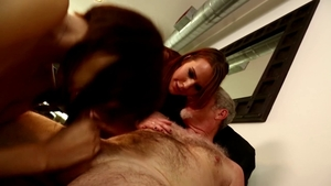 Bizarre plowing hard accompanied by shaved Alisha Adams in HD