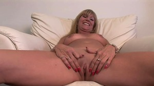Big boobs super hot blonde POV at the castings HD