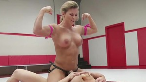 Shaved & muscle goddess domination femdom