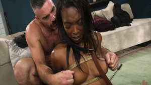 Erotic & large boobs Daya Knight cock sucking
