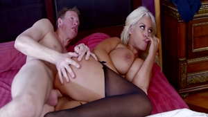 Doggy style with big ass pornstar Bridgette B