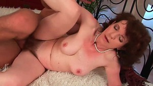 Hairy mature pussy fuck HD