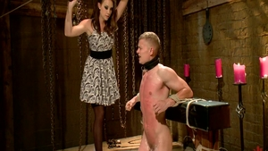 Punishment with large tits brunette Chanel Preston