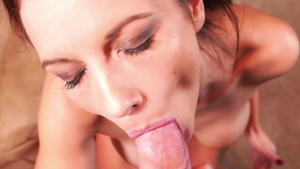 Mandy Flores in art homemade cum in mouth