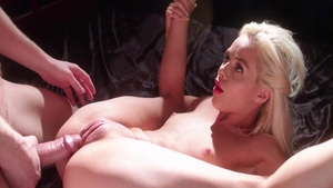 Pussy fucking sex scene with young rough Elsa Jean