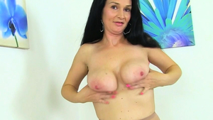 Large boobs british mature rushes rough fucking in nylon HD