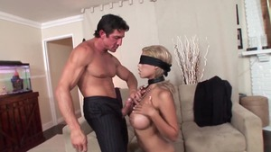 Busty Bridgette B finds dick to fuck