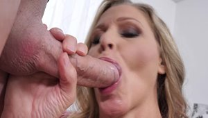 Sex scene alongside very hot blonde Julia Ann