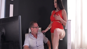 Nailing together with gorgeous pornstar Aletta Ocean
