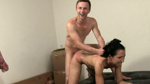 Small tits arab MILF being fucked by Rick Angel