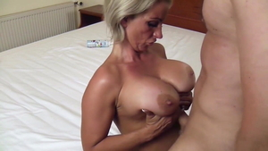Blonde Candy Samira needs tittyfuck in HD
