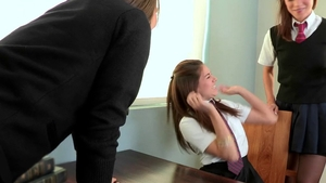 Hard pounding accompanied by Alyssa Reece