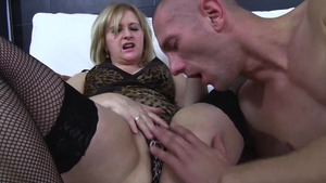 The best sex in company with very sexy MILF