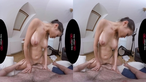 Amazing asian first time pussy eating