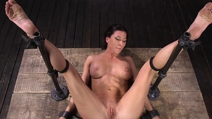 Rough BDSM along with amazing hooker Ariel X at the party HD