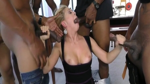 Cherie Deville alongside herie Deville crazy getting facial