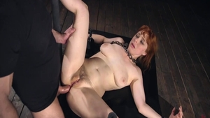 Large tits bitch Penny Pax hard cock sucking pussy eating