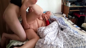 Big boobs and young amateur homemade creampied