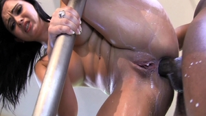 Hard ramming together with big ass Angell Summers