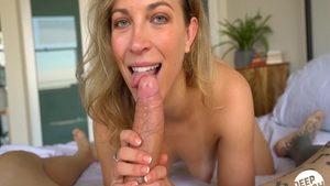 POV fucking between pretty blonde Lily Love