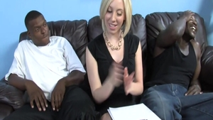 Muscle Jules Sterling threesome interracial fucking