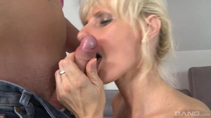 Young and saggy tits mature raw cum in mouth