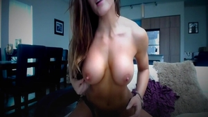 Orgasm on webcam starring sensual stepmom