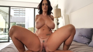 Hottest brunette Ava Addams finds pleasure in the best sex