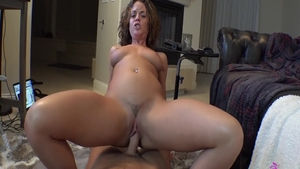 Raw sex escorted by amazing brunette Rahyndee James