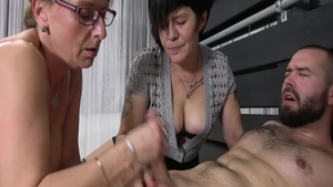 Lustful MILF finds pleasure in hard ramming