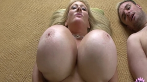 Amazing mature Kayla Kleevage has a taste for rough nailing