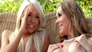 Hard nailining together with Katerina Kay & Tanya Tate