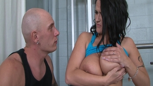 Big tits Carmella Bing fitness ass pounded
